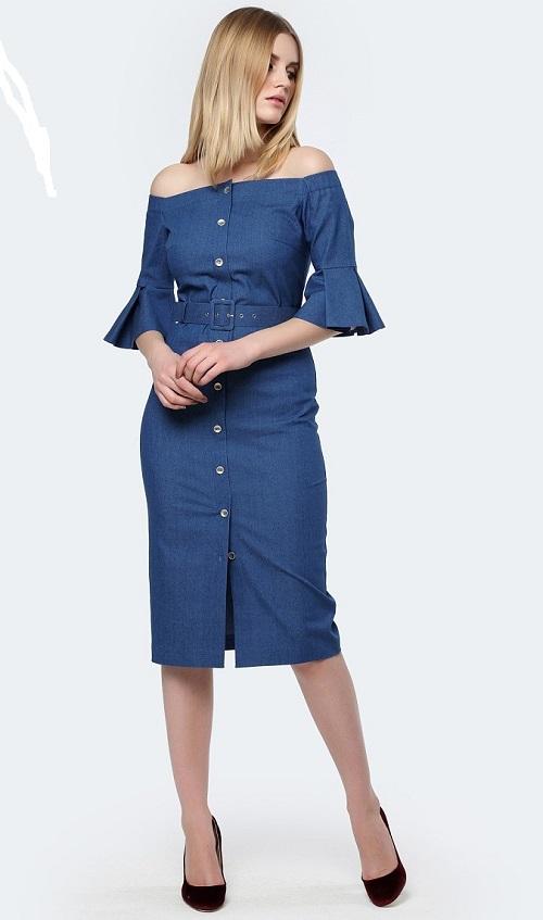 abea832625e Джинсовые платья фасоны,модели и выбор